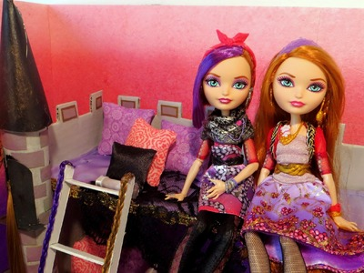 Holly and Poppy O'Hair Bed Tutorial