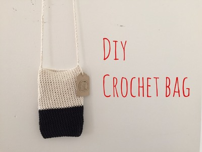 How To Crochet A Bag (Purse) Pattern  Tutorial