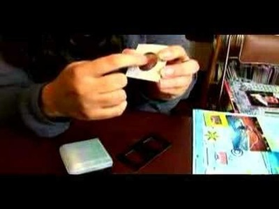 How to Do Scrapbooking with Non-Traditional Items : Non-Traditional Items for Scrapbook: Slide Mounts