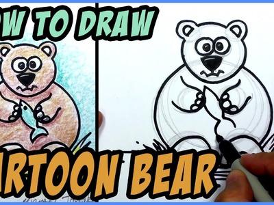 How to Draw a Cartoon Bear | MAT