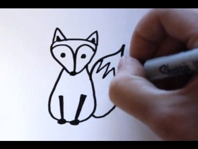 How to Draw a Cartoon Fox
