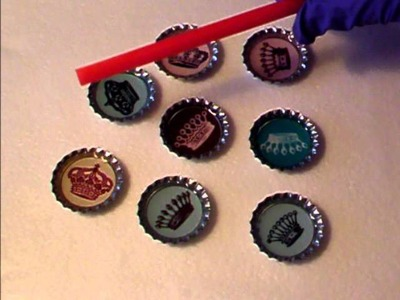 How to make a bottle cap pendant or magnet