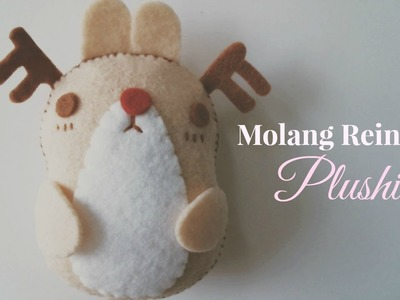 How To Make A Kawaii Molang Reindeer Plushie Tutorial