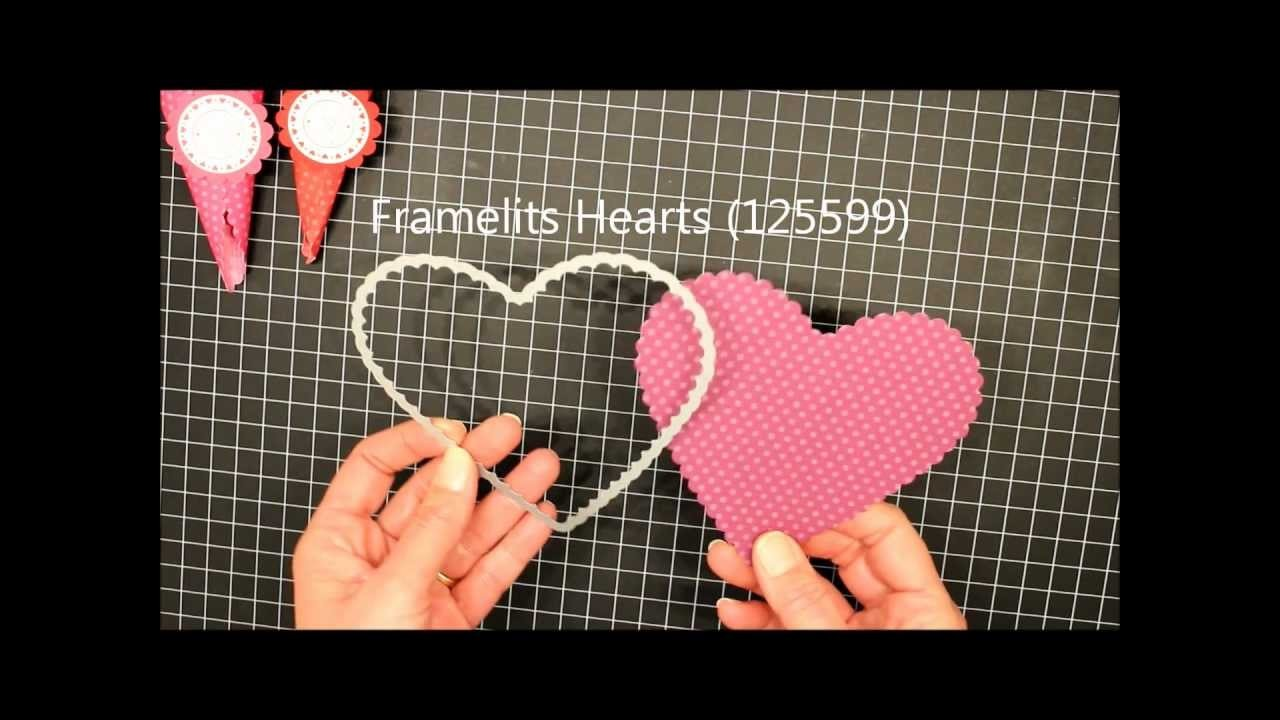 How To Make: A Scallop Heart Treat Cone.wmv