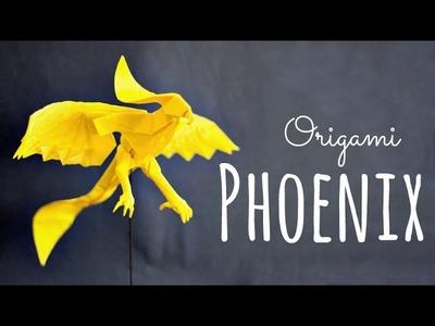 How to make an origami Phoenix (Hongyi Wan)