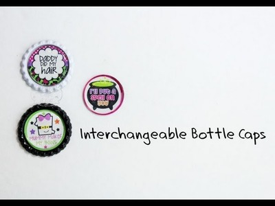 How to make bottle caps interchangeable