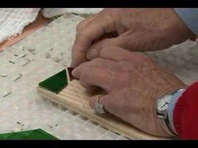 How to Make Glass Mosaics : How to Glue Glass Mosaics