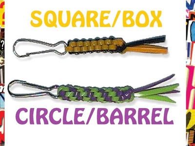 How to Start the Square & Circle Boondoggle