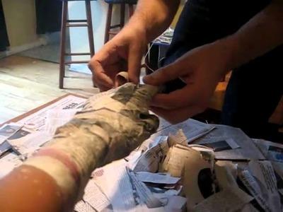 Instruction Sets for Strangers - Papier Mache Hands