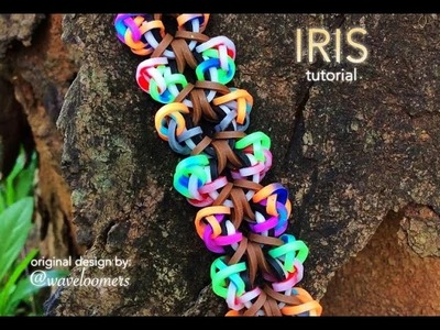 IRIS Hook Only bracelet tutorial
