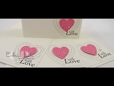 KISS Easy Valentine Cards to Make Stampin' Up Spring Catalog