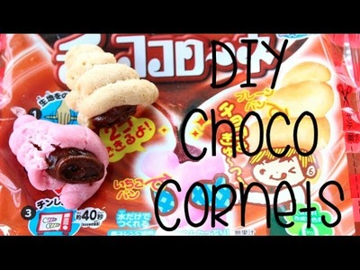 KRACIE DIY CHOCO CORNETS!