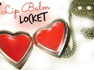 Last Minute Valentine's Day Gift - DIY Lip Balm Locket (collab with CutieBeautyMonster)
