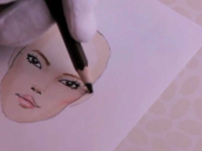 Lesson no.1, P.3 - FACE, Asian Model, Fashion Drawing