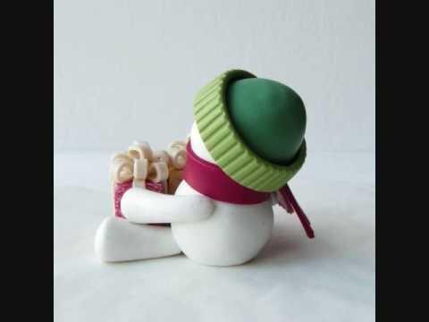 Let's Build a Snowman!  (Li'l Decor ornament)