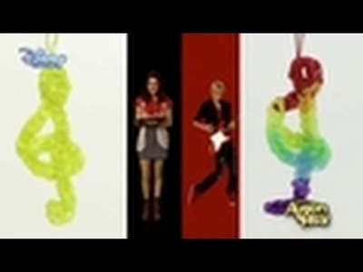 Loom Band Tutorial - Austin & Ally Treble Clef Charm - Official Disney Channel US HD