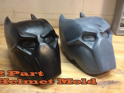 Mold-Making Tutorial: Two Part Helmet Mold