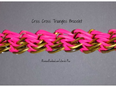 Monster Tail - Criss-Cross Triangles Bracelet (Reversible) | How To