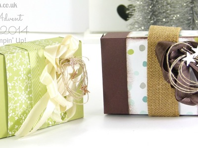 Pootles Advent Countdown Chocolate Box Tutorial
