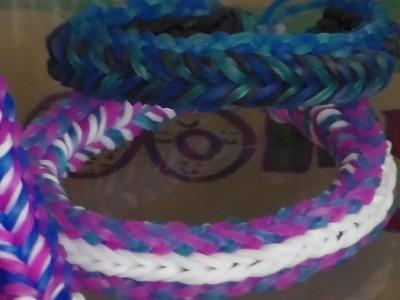 Rainbow loom fancy fish bracelet