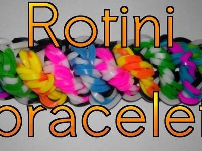 Rainbow Loom : Rotini Bracelet - How To. New Design 2014