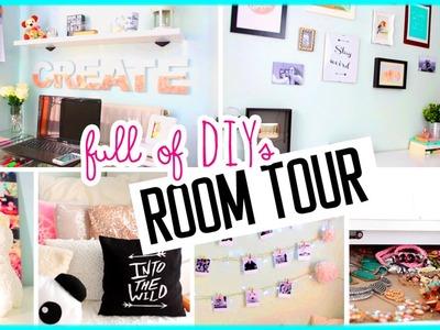 ROOM TOUR 2015! Full of DIYs!