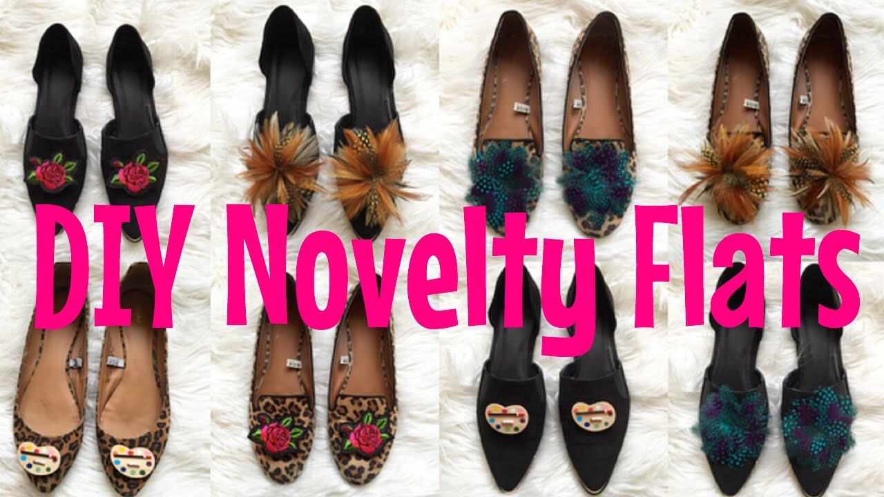Simple DIY Novelty Flats