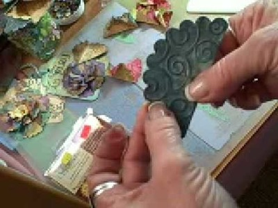 Spellbinders Nestabilities Origami Flower, Part 1