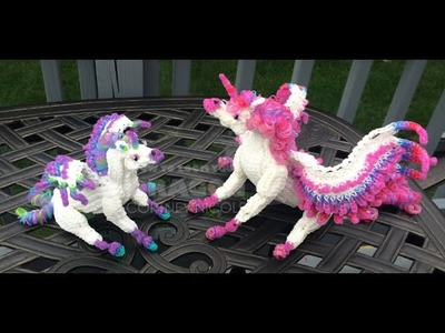 The Making of the Color Changing Rainbow Loom Alicorns