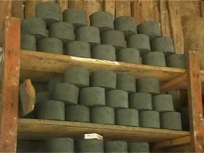 The process of Making Bio-briquette