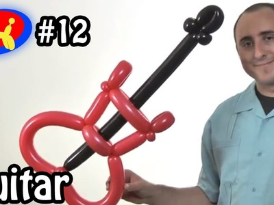 Three Balloon Guitar - Balloon Animal Lessons #12 ( globoflexia )
