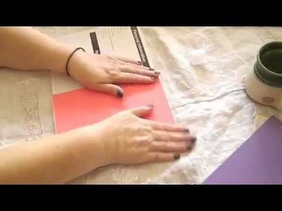 "Tutorial. P3.   Composition Book Day Planner ""Glueing in the dividers"""