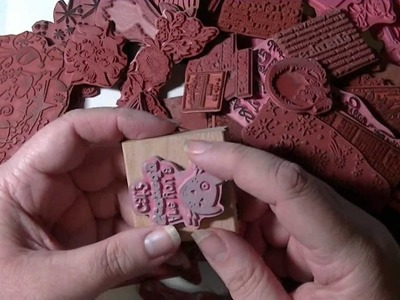 Unmounting Wood Mount Rubber Stamps