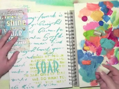 A Quick Art Journal Page with Only Words
