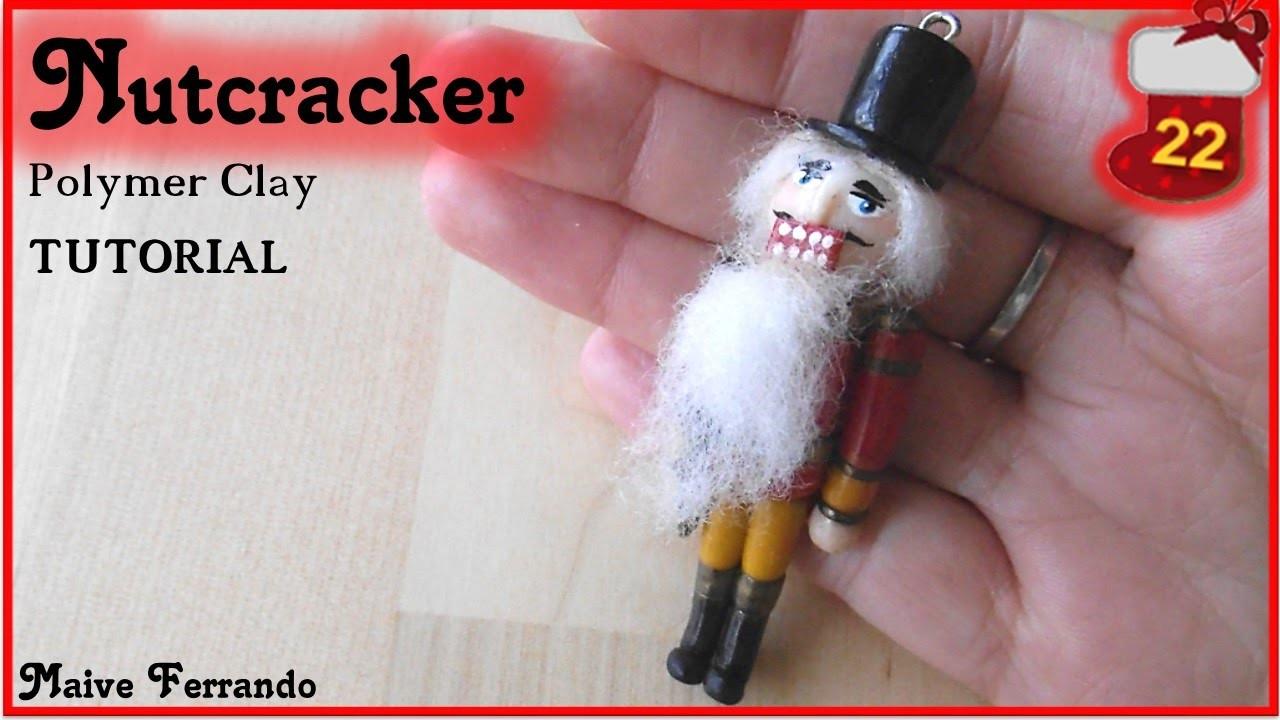 Christmas Advent Calendar: 22nd Day - Polymer Clay Nutcracker Tutorial