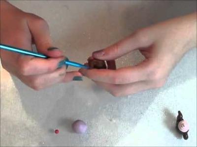 Cupcake teapot polymer charm tutorial