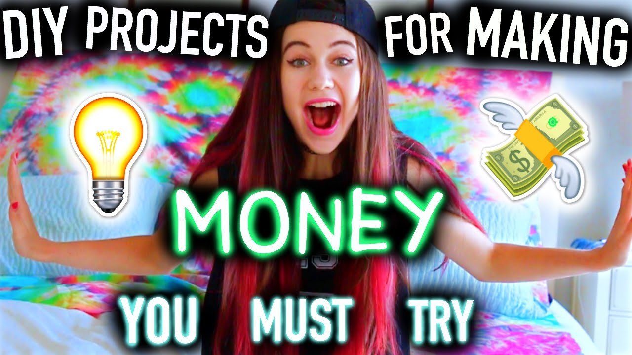 DIY Project Ideas for Making Money You MUST Try! -  Easy, for Teenagers.Kids