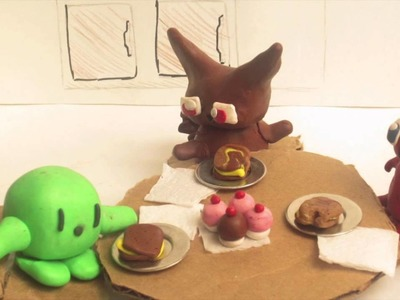 Easy Arts & Crafts Ideas for Kids(Claymation)