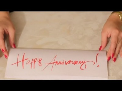 How Do I Make Anniversary Cards for Friends? : Cards & Crafts