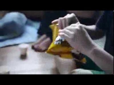 How do you make a potato chip bag!