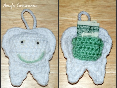 How to Crochet a Tooth Fairy Pillow