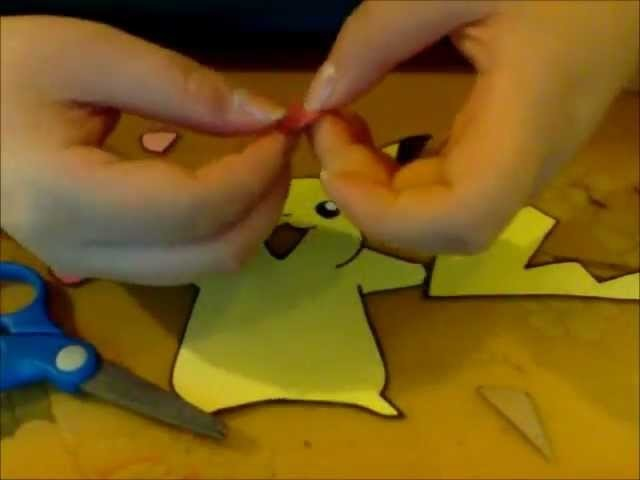 How to Make a Pikachu Using Construction Paper