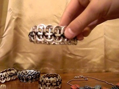 How to make a poptab.soda tab.braclet.belt