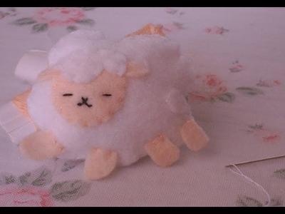 ♡How to make a very cute & easy sheep plushie.  ♡