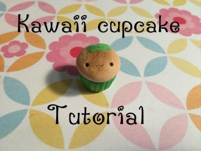 Kawaii Cupcake Polymer Clay Tutorial (no mold)