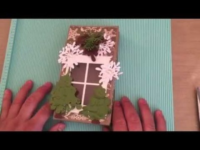 """Magnolia Bag Box Tutorial from an 8.5""""X11"""" paper"""