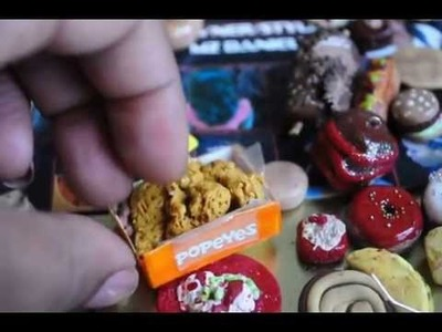Making Food with Polymer Clay Fried Chicken