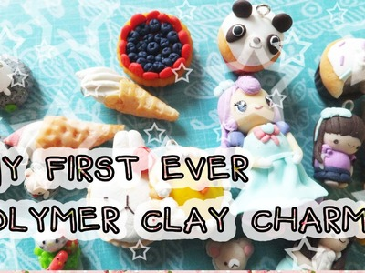 My First Ever Polymer Clay Charms