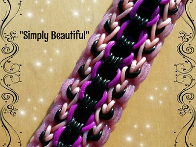 "New ""Simply Beautiful"" Monster Tail Bracelet.How To Tutorial"