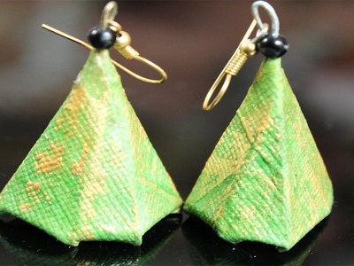 Paper Jewelry Designer Earrings 3